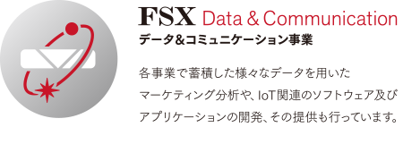 FSX Data&Communication データ&コミュニケーション事業
